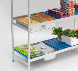 GN 1/1 and GN 2/3 Shelving